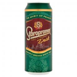 Staropramen sör 0,5l dob. Dark 5%