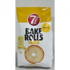 7Days Bake Rolls 80g  sajtos