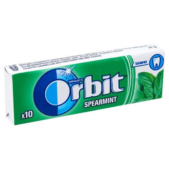 Orbit drazsé 10db spearmint