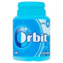 Orbit Peppermint drazsé 46db bottle