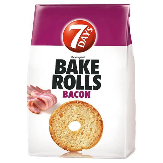7Days Bake Rolls 80g bacon