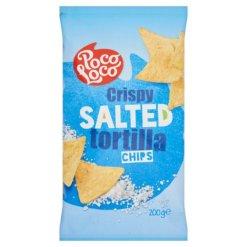 **Poco Loco tortilla chips 200g sós