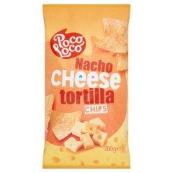 **Poco Loco tortilla chips 200g sajt