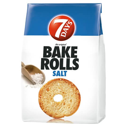 7Days Bake Rolls 80g sós
