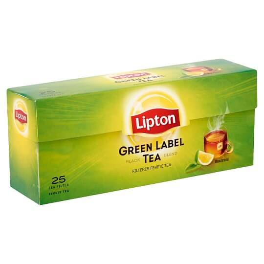 Lipton Green Label tea 25*1,5g*