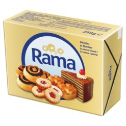 Rama margarin 250g kocka*