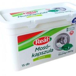 Reál mosógél-kapszula 15db White
