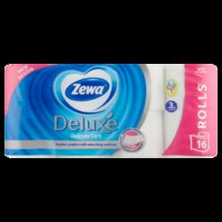 Zewa Deluxe Wc papír 16tek 3r white*