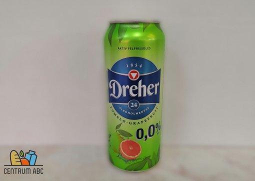 Dreher 0. alk.m. sör 0,5l dob. pomel