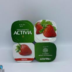 Actívia joghurt 4x125g eper