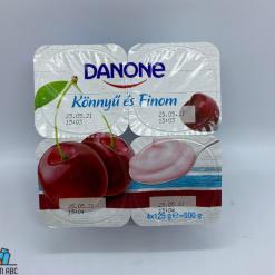 Danone kef. joghurt 4x125g meggy
