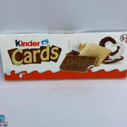 kinder cards T2*5 128gr