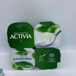 Actívia joghurt 4x125g krémes natúr