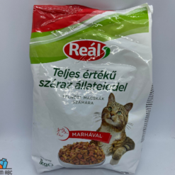 Reál macskaeledel 1kg marhahússal