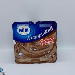 Milli krémpuding 4*125g kakaós