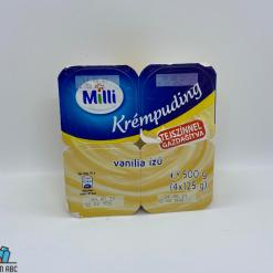 Milli krémpuding 4*125g vaníliás