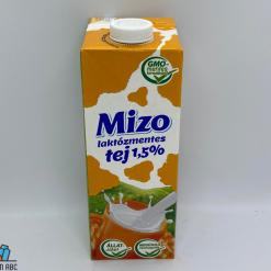 Mizo UHT tej laktózmentes 1,5% 1l