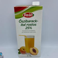 Reál üdítoital 1l oszibarack 25%