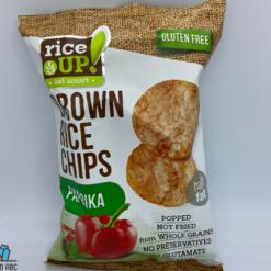 Rice Up chips 60g paprikás