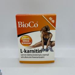 Bioco L-karnitin 60 db