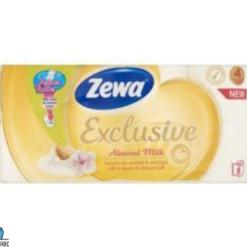 zewa exclusive e.ü-p. almond 4r. 8t.