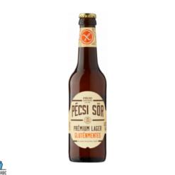 Pécsi prémium gluténmentes sör 0,33L
